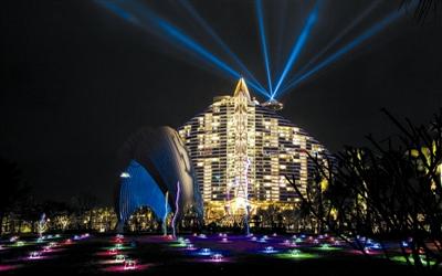 中国首家七星酒店落户三亚海棠湾